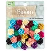 Flower Embellishments - 6mm x 12mm